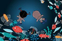 小破孩2018年8月壁纸-幽暗深海